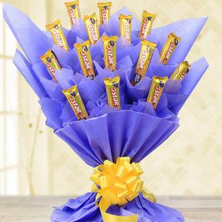 Valentine 5 Star Chocolate Bouquet