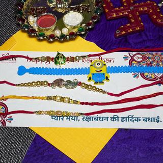 Coolest Rakhi Combo of 5