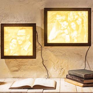 Personalised Lithophane Backlight Frame