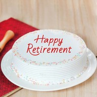 Retirement Fresh Vanilla Cake