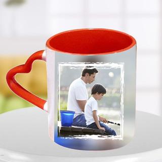 Heart Handle Mug for Dad