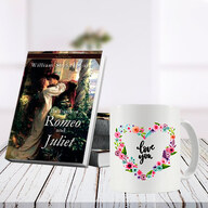 Romeo and Juliet Book and Mug Combo