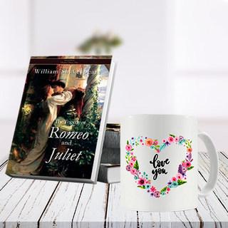 Romeo and Juliet Book and Mug Combo
