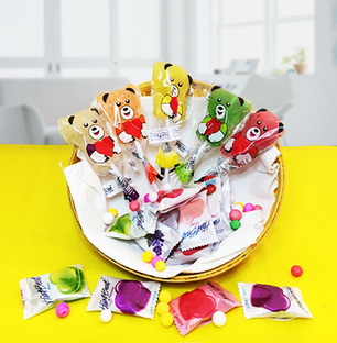 Fruit Lolly and Candy Combo