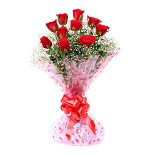 Valentine Roses Love Bouquet