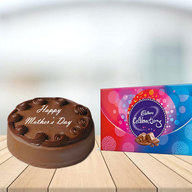 Mothers Day Chocolate cake with Celebration Combo