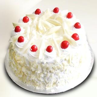 Valentine White Forest Cake