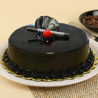 Ultimate Chocolate Truffle Cake