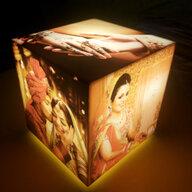 Personalised Lamp- Cubelit Tabletop