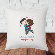 Kiss Day Cushion