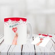 Valentine Day Mug and Coasters