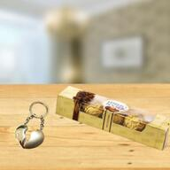 Keychain and Chocolate Combo