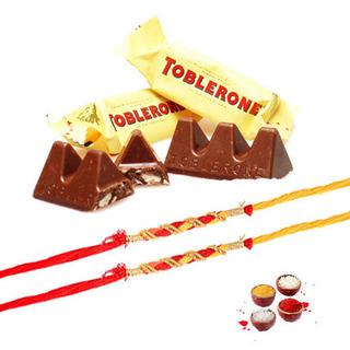 Toblerone with 2 Rakhi