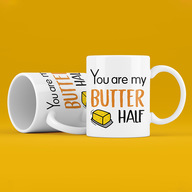 You are my Butter Half Mug Set
