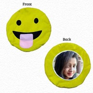 Smiley Photo Cushion