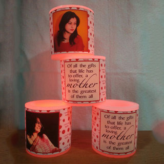 Mothers Day LED Candle