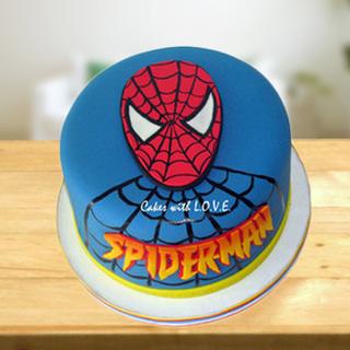 Spider Man Birthday Cake Online Send Spider Man Cake To