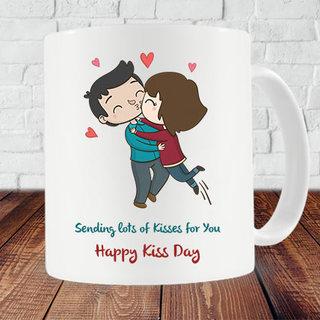 Kiss Day Mug
