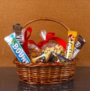 Imported Chocolates and Dry Fruit Basket