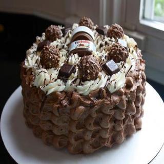 Nutella Choco Cake