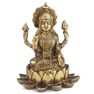 Brass Lakshmi
