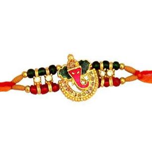 Precious Ganesh Rakhi