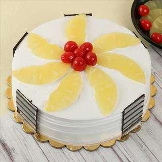 Pineapple Gateau Cake