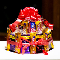 Two Tier Chocolate Bouquet