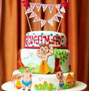 Kids Tier Cake