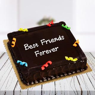 Friendship Day Cake Truffle Square
