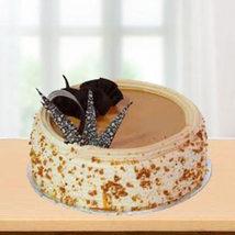 Valentine Butter Scotch Crunch Cake