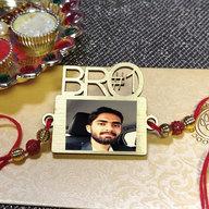 Personalized Bro #1 Rakhi
