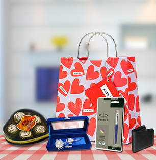 Send Valentine Gift Combo For Men Online In India At Indiagift In