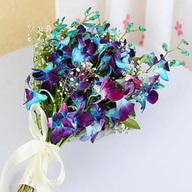 Blue Orchids Bunch