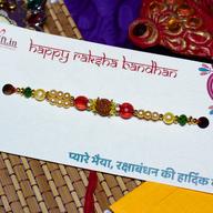 Pearl Rudraksh Rakhi