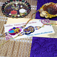 Colourful Rakhi Set
