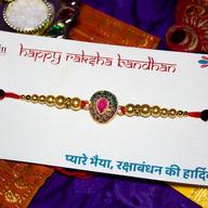 Kundan & Pearl Rakhi