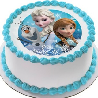 Frozen Photo Cake