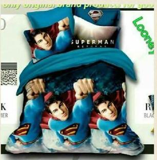SuperMan Bedsheet