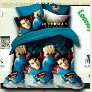 SuperMan Bedsheet