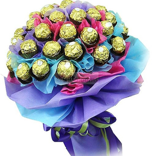 Send Chocolate Bouquet Large Online In India At Indiagift In