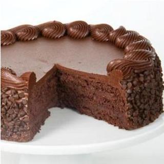 Valentine Choco Chip Cake
