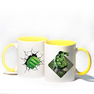 Hulk Yellow Mug