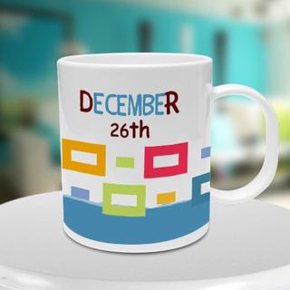 Birth Date Mug