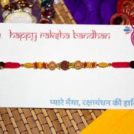 Om Rudraksh Rakhi