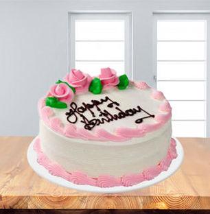 Valentine Strawberry Cake