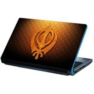 Khanda Laptop Skin