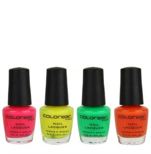 ColorBar Pop Heart Nail Kit