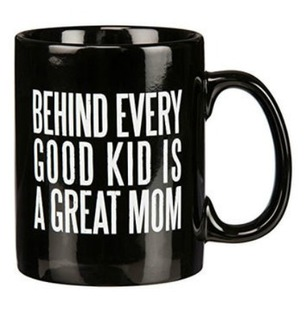 Best Mom Black Mug