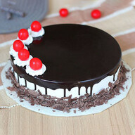 Cherry Bomb Black Forest Cake
